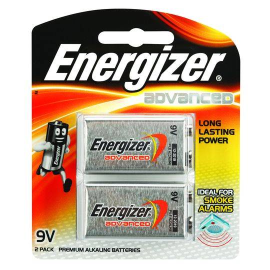 Energizer Advanced 9v Batteries
