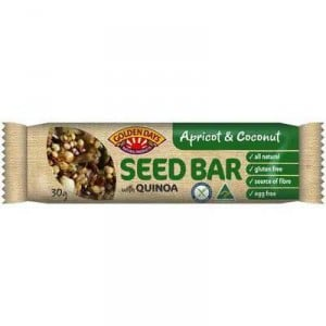 Golden Days Seed Bar With Quinoa Coconut & Apricot