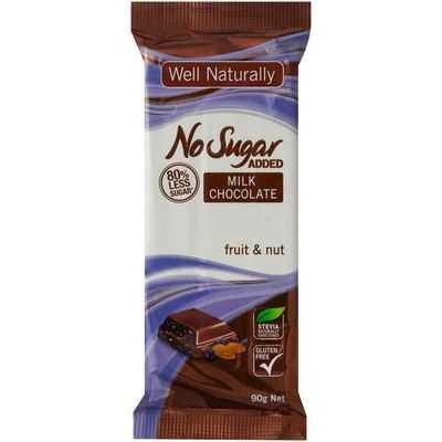 Well Naturally Bar Fruit & Nut