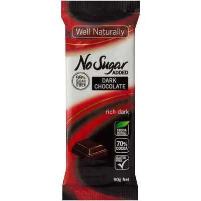 Well Naturally Bar Sugar Free Dark
