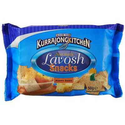 Kurrajong Kitchen Lavosh Snack Crackers