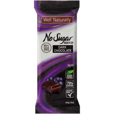Well Naturally Bar Acai No Sugar Added