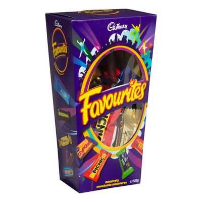 maddisonmelkie@gmail.com reviewed Cadbury Favourites