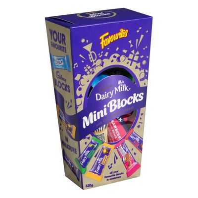 Cadbury Favourites Mini Blocks