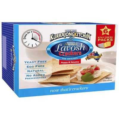 Kurrajong Kitchen Lavosh Crackers
