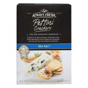 Always Fresh Cracker Pettini Sea Salt