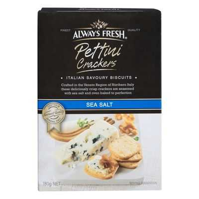 Always Fresh Cracker Pettini Sea Salt