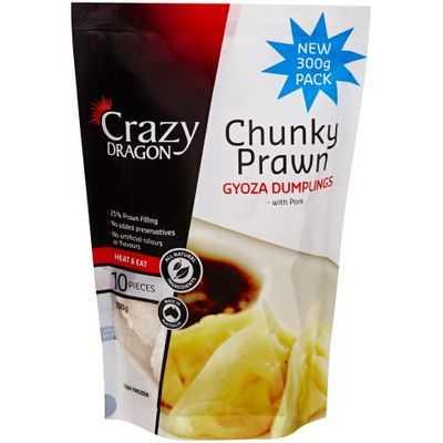 Crazy Dragon Prawns Gyoza Chunky