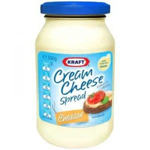 Kraft Cream Cheese Spread Cheddar