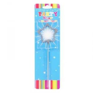 Party Candle Sparkler Star