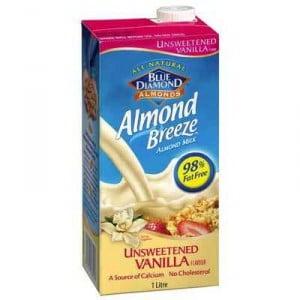 Almond Breeze Unsweetened Vanilla Almond Milk