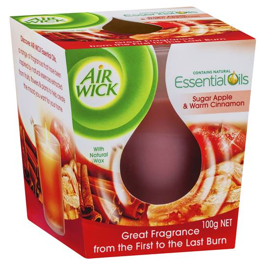 Air Wick Eco Candle Apple & Cinnamon