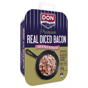 Don Diced Bacon