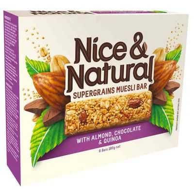 Nice & Natural Supergrain Bar Almond Choco