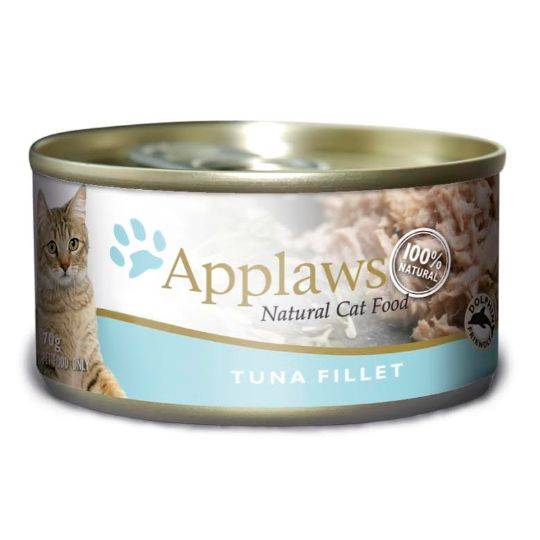 Applaws Cat Food Tuna Fillet Tins