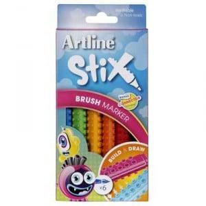 Artline Brush Marker Stix