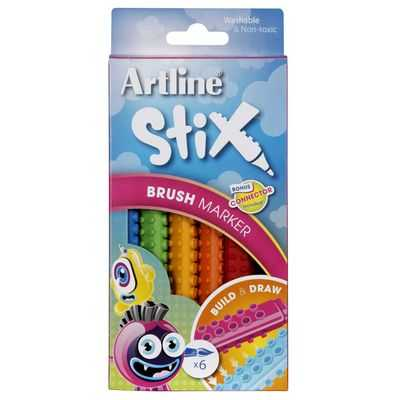 Artline Brush Marker Stix
