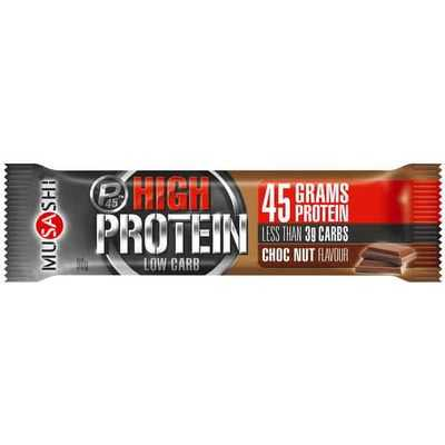 Musashi High Protein P45 Bar Choc Nut