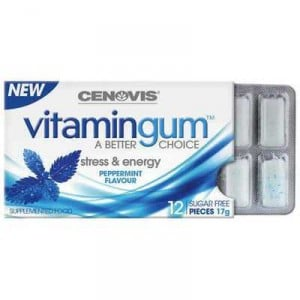 Cenovis Vitamin Gum Peppermint Stress & Energy