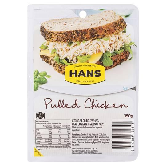 Hans Chicken Pulled