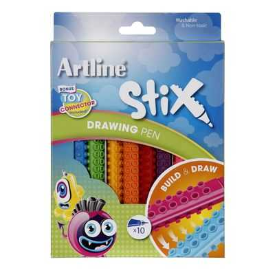Artline Pen Stix Drawing