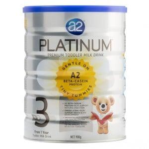 A2 Platinum Toddler Formula Stage 3 1-3yrs