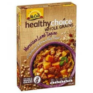 Mccain Healthy Choice Wholegrains Moroccan Lamb Tagine
