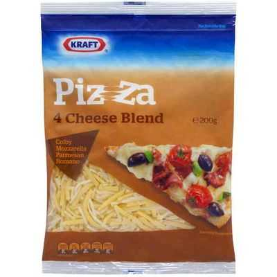 Kraft Cheese Shredded Pizza 4 Cheese Blend