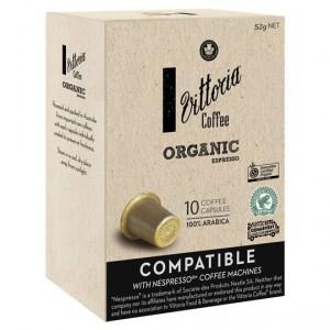 Vittoria Compatible Organic Coffee Capsules