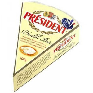 President Brie Cheese