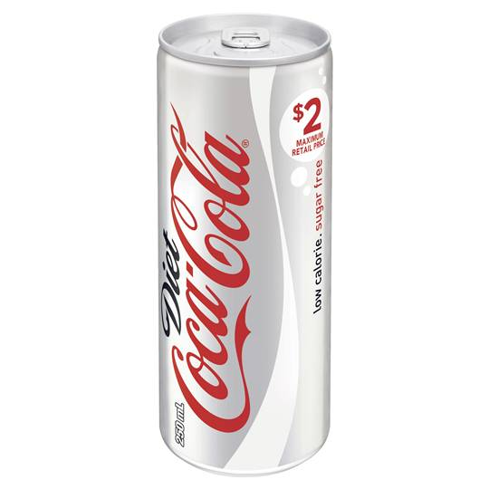 Coca Cola Diet Can