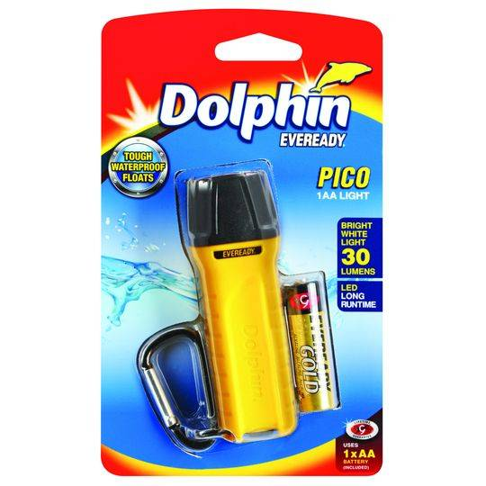 Dolphin Eveready Pico 1aa Light