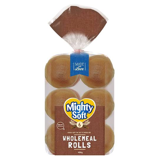 Mighty Soft Wholemeal Roll