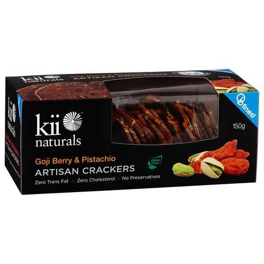 Kii Crackers Goji Pistachio