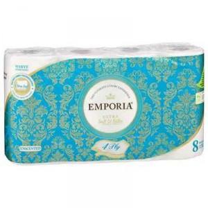 Emporia Toilet Tissue White Unscented 4ply