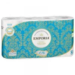 Emporia Toilet Tissue Silver Scented 4ply