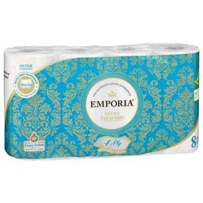 mom390666 reviewed Emporia Toilet Tissue Silver Scented 4ply