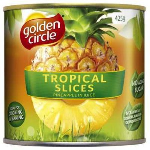 Golden Circle Pineapple Slices Unsweetened