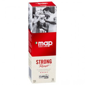 Map Strong Roast Coffee Capsules