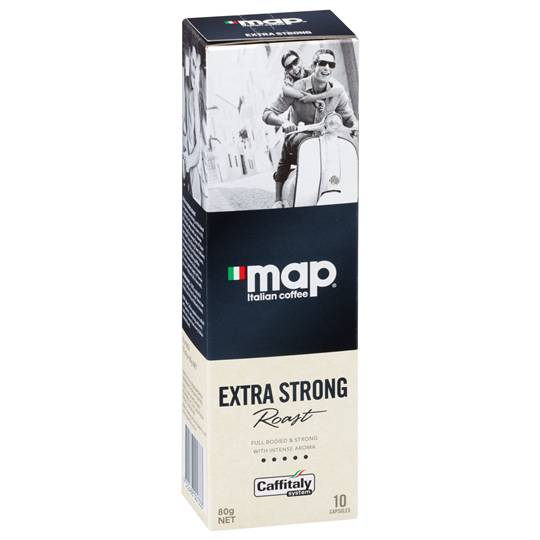 Map Extra Strong Roast Coffee Capsules