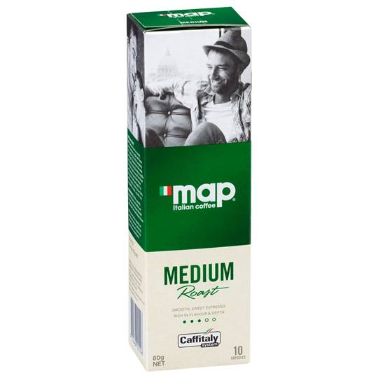 Map Medium Roast Coffee Capsules