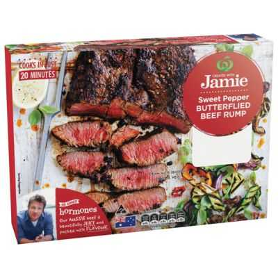 Created With Jamie Butterflied Beef Rump Sweet Pepper