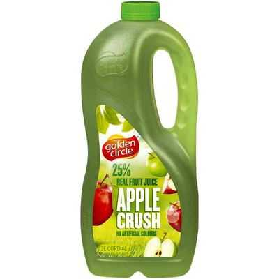 Golden Circle Apple Crush Cordial