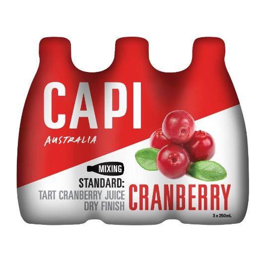 Capi Cranberry Fruit Soda