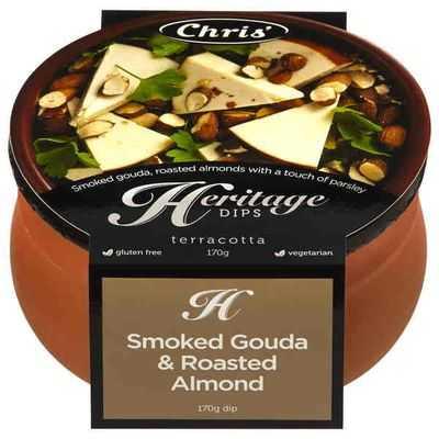 Chris' Heritage Dips Smoked Goulda & Roasted Almond