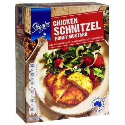 Steggles Breast Schnitzel Honey Mustard