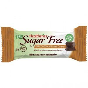 Healtheries Sugar Free Bars Caramel