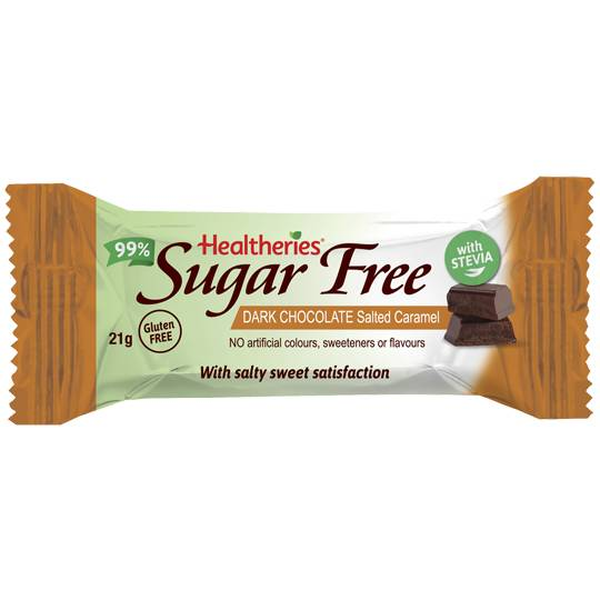 Healtheries Sugar Free Bars Caramel