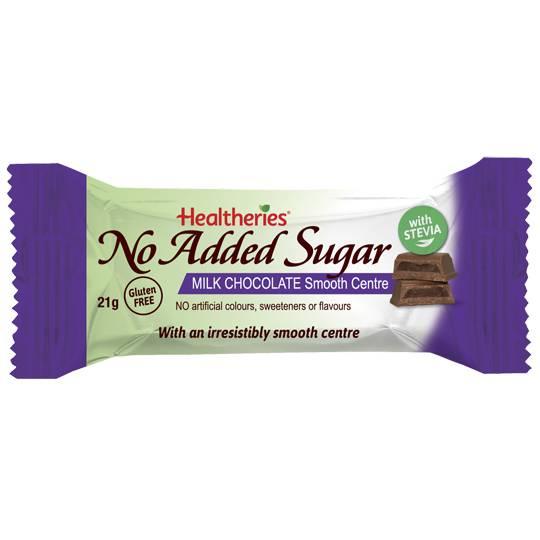 Healtheries No Added Sugar Bar Milk Chocolate