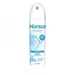 Norsca Deodorant Aerosol Baby Powder Antiperspirant